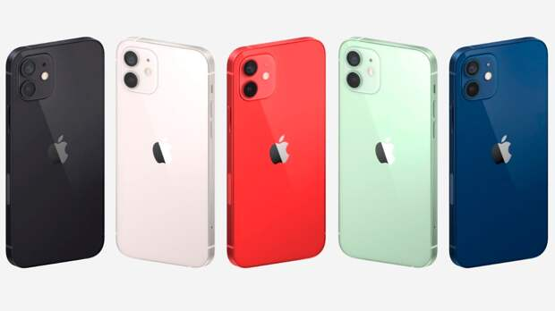 iPhone 12 и 12 Mini оснастили 5G и процессором Apple A14 Bionic