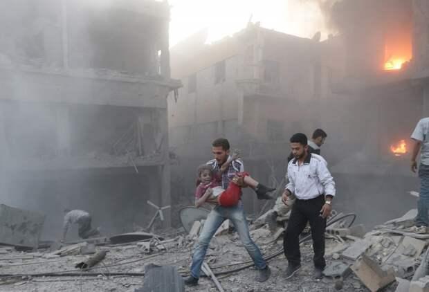 ВВС Франции нанесли удары по тренировочному лагерю террористов в Сирии. ПОСТРАДАЛИ МИРНЫЕ ЖИТЕЛИ- 80 ЧЕЛОВЕК...