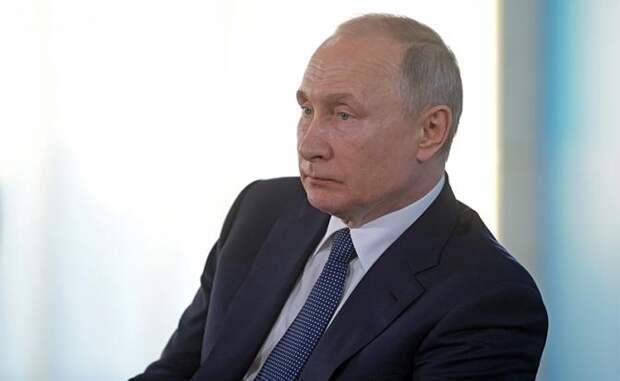 На фото: президент России Владимир Путин