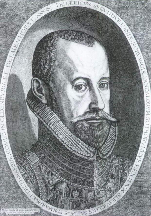 Король Дании Фредерик II (1559–1588) - Датский флот Нового времени: становление | Warspot.ru