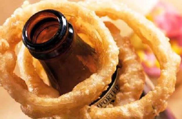 Как приготовить луковые кольца в кляре к пиву: рецепт с фото