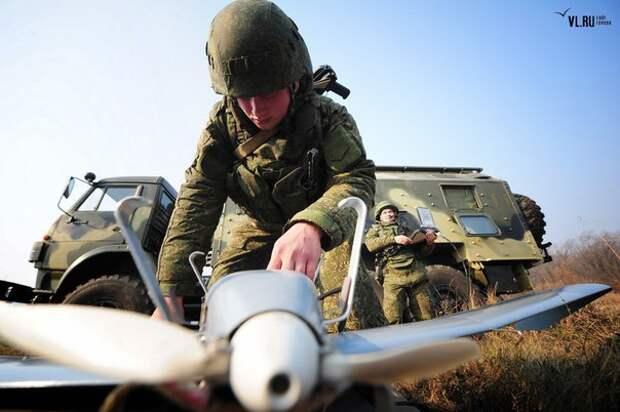 В Сирии армия России бросила в бой боевых роботов