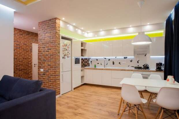 Ниша в стене на кухне: как оформить красиво, современно и со вкусом (59 фото)