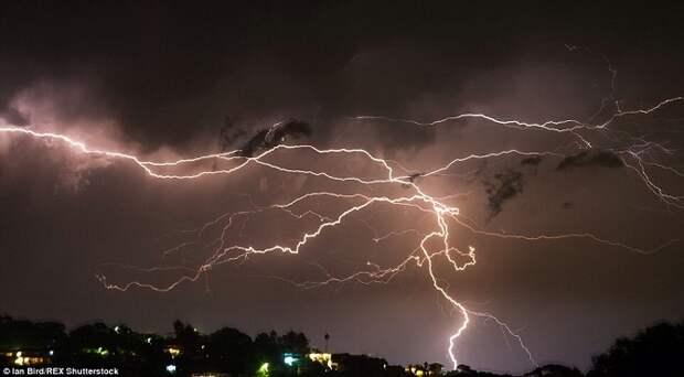 Невероятный шторм в Брисбене