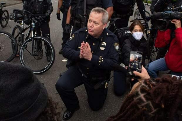 Либералы и полиция. Теперь, к счастью, в С(п)ША