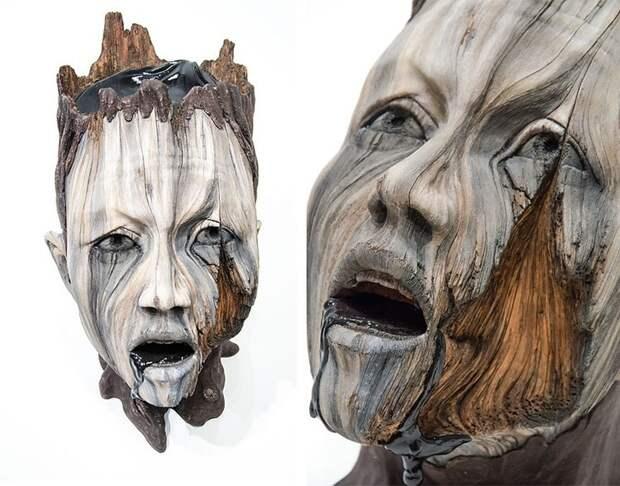 Иллюзия дерева. Скульптуры, которые вас обманут