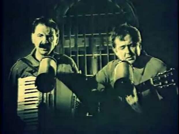 """Юмор 90-ых: Городок (1993) - Куплеты зеков: """"Жил был ..."""""""