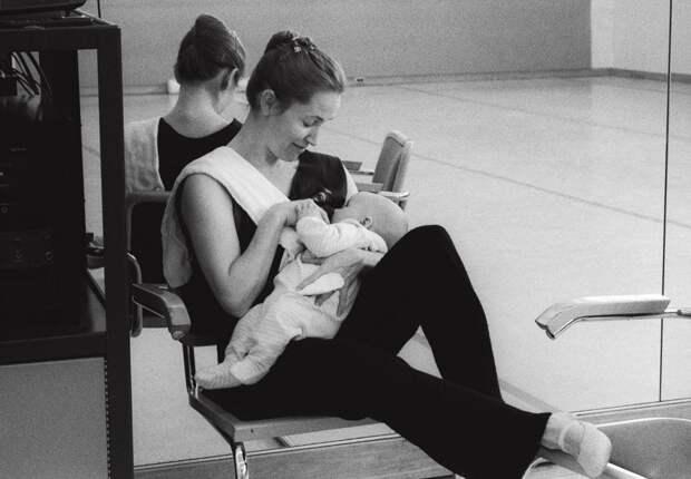 Балерины с детьми