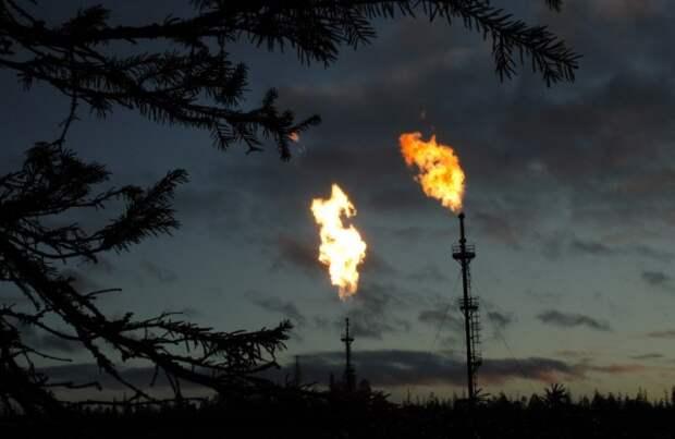 Попутный газ выбросы