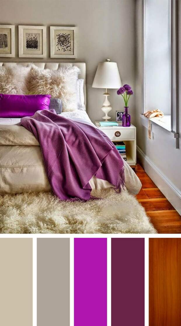 Идеальные цветовые сочетания для создания уюта в спальне