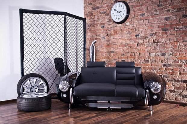 Автомобильные диваны (два типа)