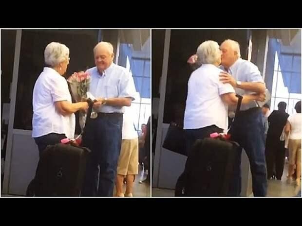 Этот дедушка заставил весь мир вновь поверить в настоящую любовь. Невероятно трогательно!