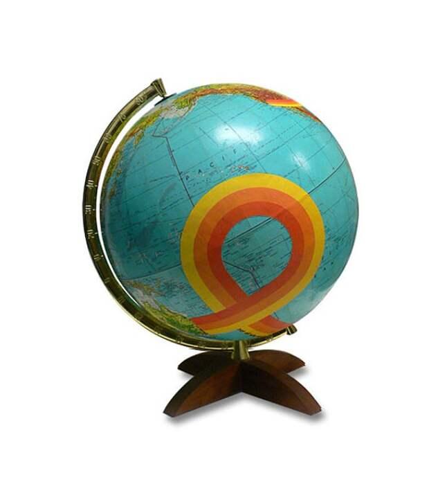 Переделка глобусов от Венди Голд (трафик)