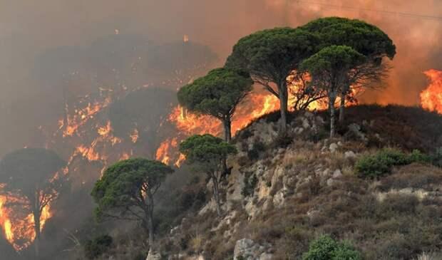 Вслед за Грецией начала гореть Италия
