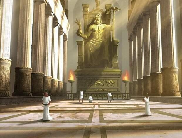 Голова статуи Зевса Калигула, безумие, история, культ, лошадь, факты
