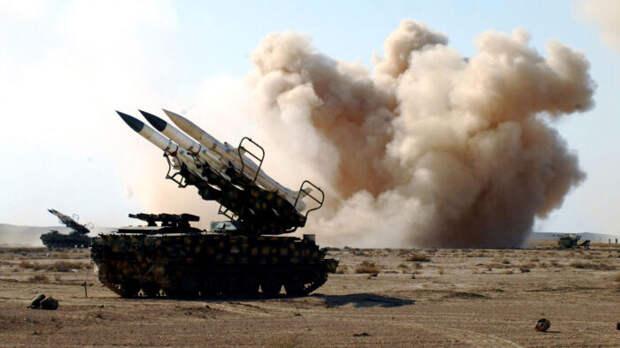 Средства ПВО РФ помогли сирийцам сбить израильские ракеты сразу же после пуска