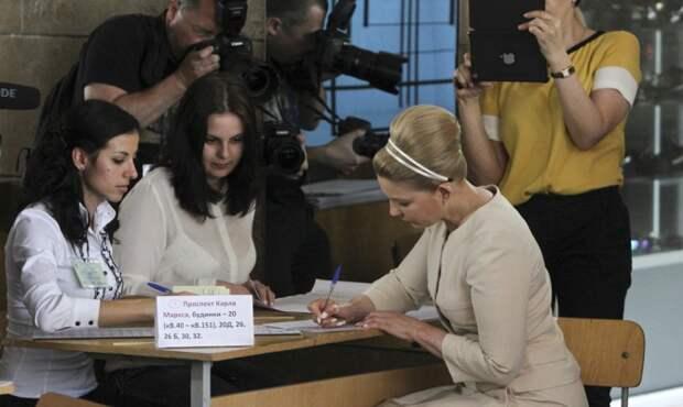 Тимошенко на выборах президента «проголосовала за европейскую Украину»