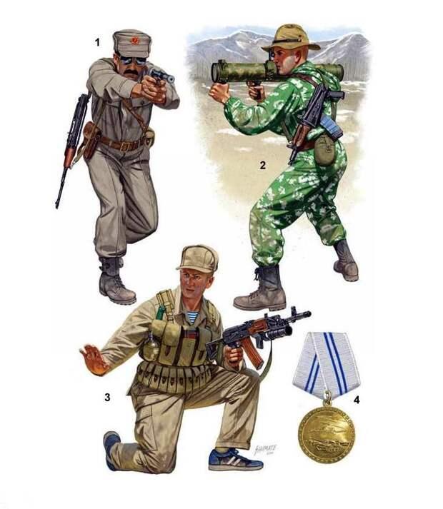 Советский спецназ в Афганистане иллюстрации, россия, спецназ