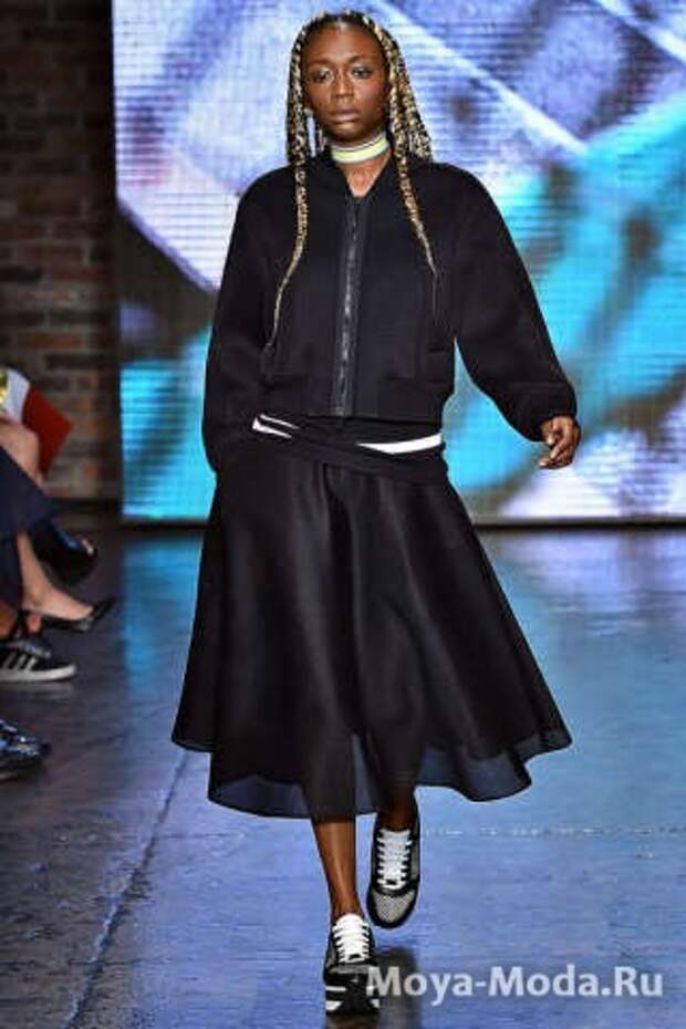 Модная юбка весна-лето 2015 DKNY