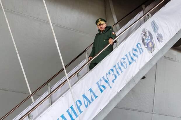 Шойгу потребовал нарастить темпы реконструкции сухого дока 35-го судоремонтного завода