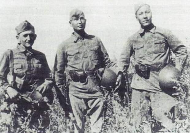 Немецкие диверсанты в советской форме