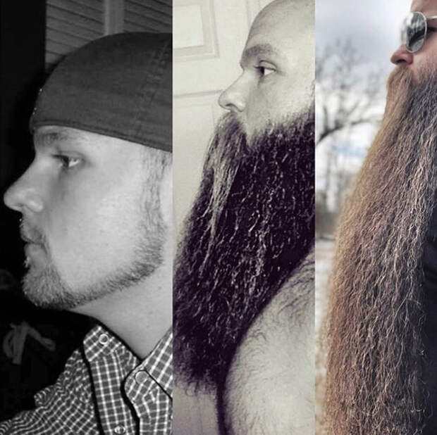 Американец прославился на весь мир благодаря своей бороде