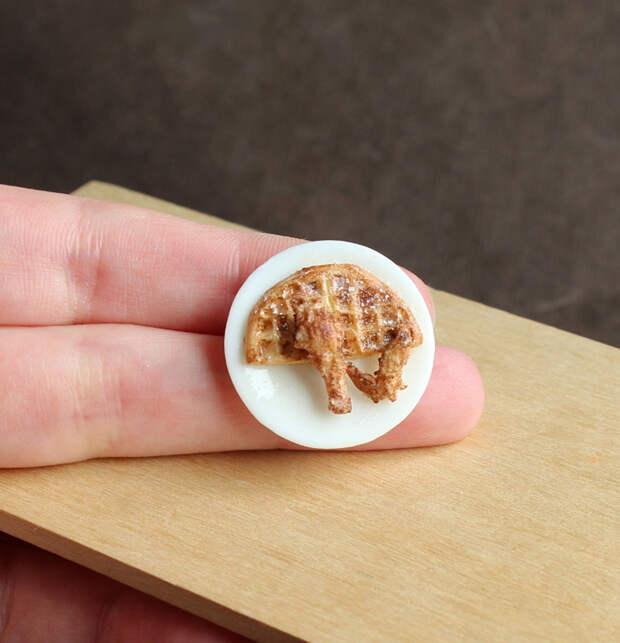 Эти мини-скульптуры из глины так похожи на настоящую еду, что слюнки текут