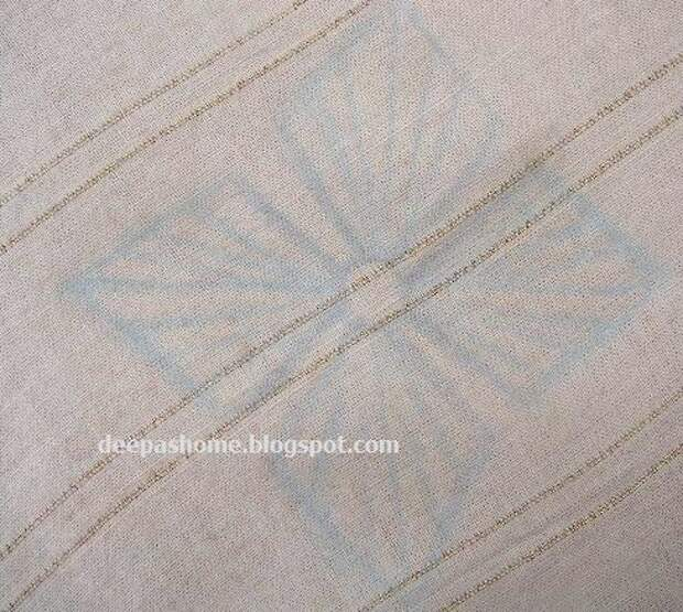 Необычная вышивка с бусинами. МК