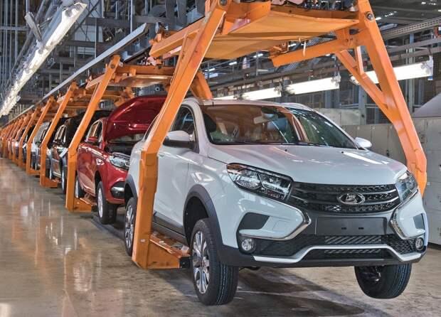 С начала года в России реализовали 42,5 тысячи отечественных автомобилей