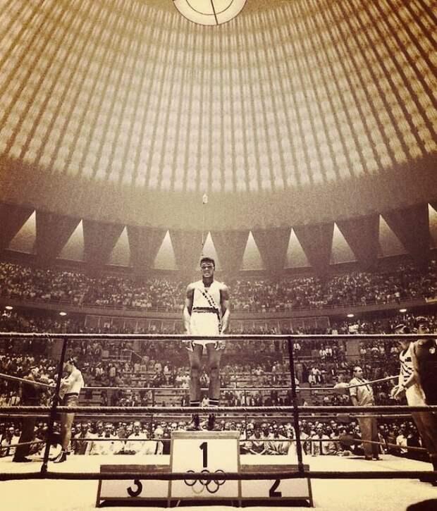 Кассиус Клей (Мохаммед Али), чемпион XVII летних Олимпийских игр 1960 года. история, факты, фото