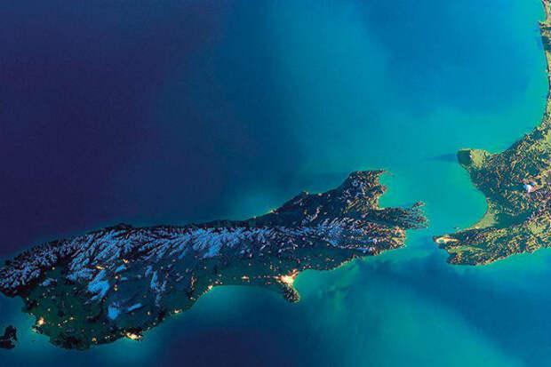 Что скрывает покрытый водой материк, который находится в Тихом океане