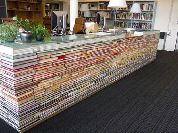 repurposed-vintage-books-library-desk