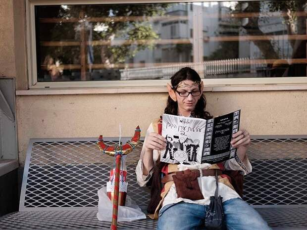 """Игра престолов"""" в Тель-Авиве: фестиваль любителей фэнтези"""
