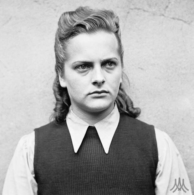 Ирма Грезе (Irma Grese) (повешена 13 декабря 1945 года)