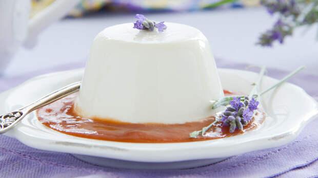 Рецепты Маргариты Симоньян: Панакотта с лавандой