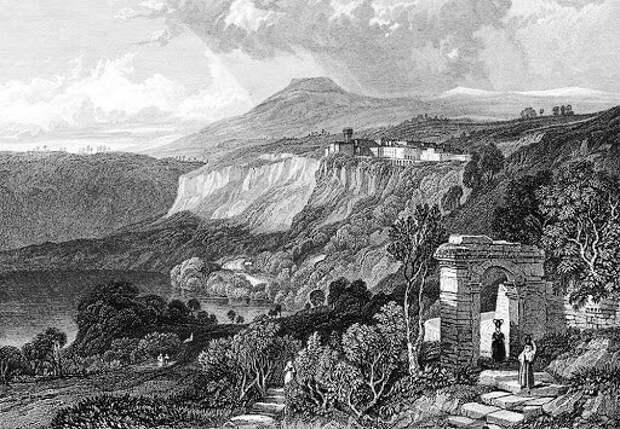 Остатки храма Дианы.
