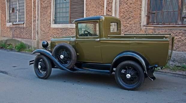 ГАЗ-4 автомобили, газ, фоторепортаж