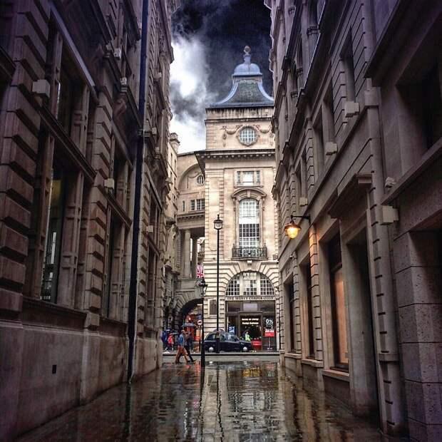 Другой Лондон в снимках, сделанных с помощью Iphone