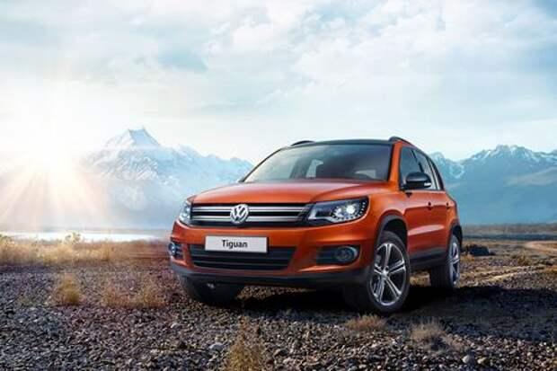 Volkswagen начал продажи новой версии Tiguan — Allstar