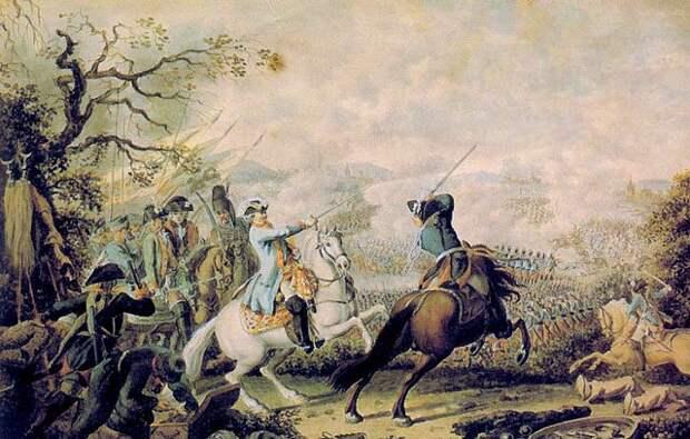 Разгром турецкой армии при Кагуле