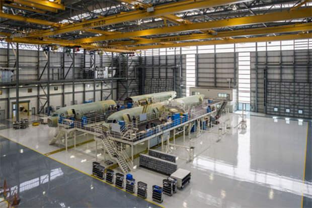 Airbus открыл завод по производству самолетов в США