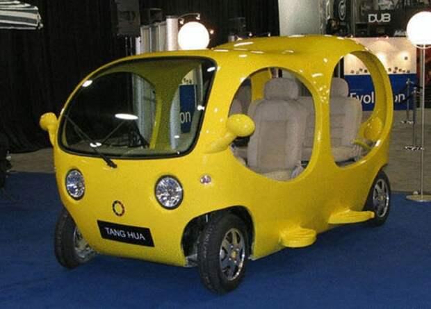 3. Tang Hua Detroit Fish автомобили, концепт-кары, странности