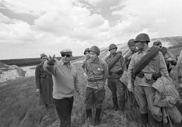 «Они сражались за Родину». Фотографии со съёмочной площадки.