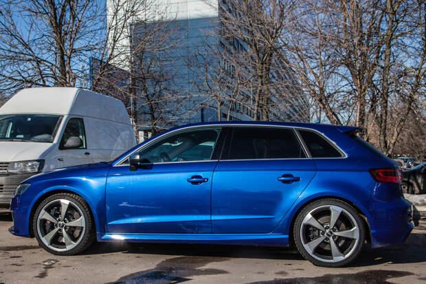 Audi RS3: тест-драйв