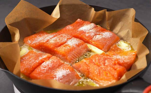 Лучший способ приготовить рыбу за 15 минут: рыба на бумаге