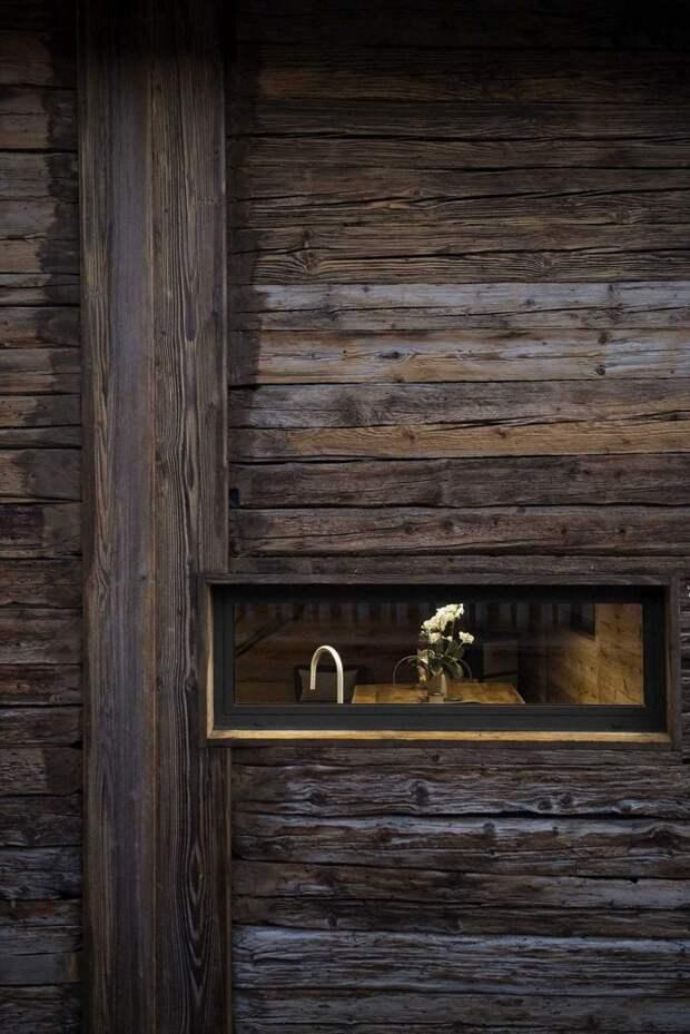Как в Швейцарии превратили 200-летний сарай в уютный 3-этажный дом