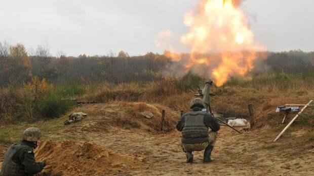 ВСУ выпустили по ДНР более 40 снарядов и мин за сутки