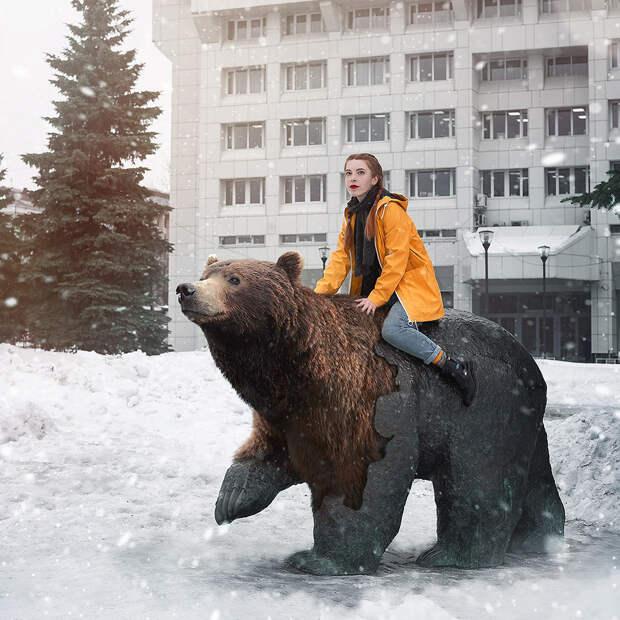 Невероятные сюрреалистические автопортреты девушки из Перми (ФОТО)