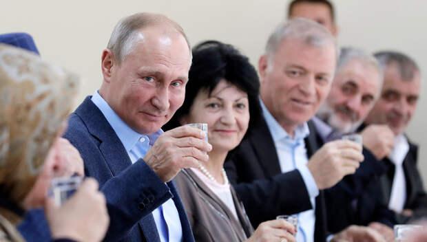 Вести.Ru: Показать бандитам, что народ не с ними: Путин пообщался ...