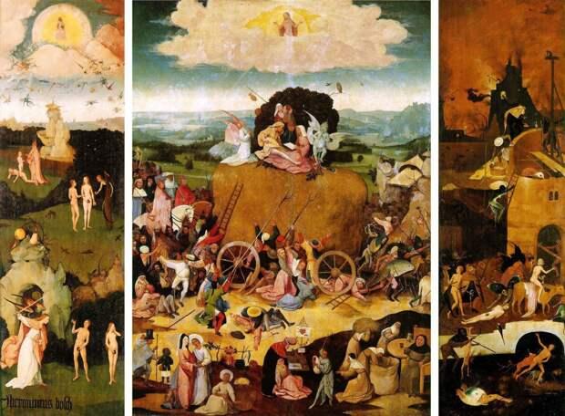 Работы одного из самых загадочных живописцев - Иеронима Босха